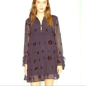 & other stories - Blue flirty hippie dress